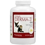 Derma-3 Softgels for Cats and Small Dogs, 250 Capsules