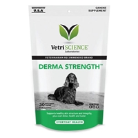 Vetri-Science Derma Strength Canine, 30 Bite-Sized Chews