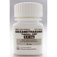 Dexamethasone 0.5 mg, 100 Tablets