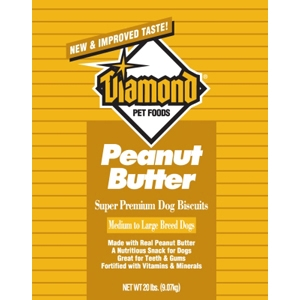Diamond Biscuits Peanut Butter, 20 lb