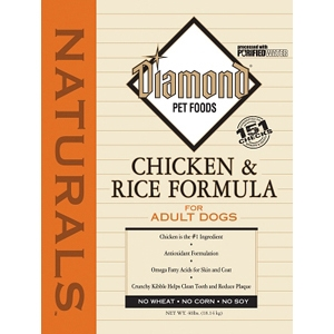 Diamond Naturals Dog Food Chicken And Rice Ingredients