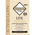 Diamond Naturals Lamb & Rice Lite Dog Formula, 30 lb