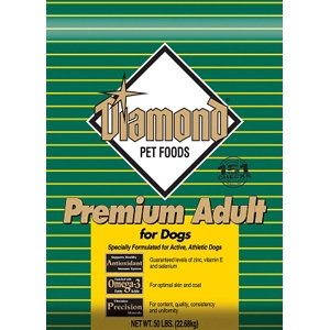 Diamond Premium Adult Formula for Dogs, 50 lb