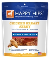 Dogswell Happy Hips Dog Treats, Chicken Breast Jerky, 8 oz