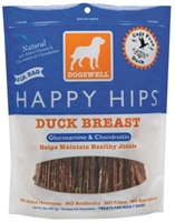 Dogswell Happy Hips Dog Treats, Duck Jerky, 32 oz