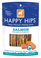 Dogswell Happy Hips Dog Treats, Salmon Jerky, 5 oz