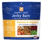 Dogswell Happy Hips Jerky Bars, Chicken & Veggies, 15 oz