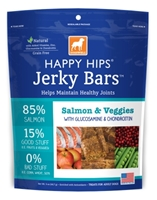 Dogswell Happy Hips Jerky Bars, Salmon & Veggies, 5 oz