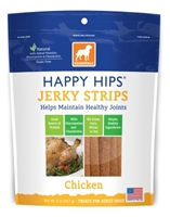 Dogswell Happy Hips Jerky Strips, Chicken, 5 oz