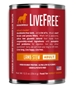 Dogswell LiveFree Grain-Free Canned Dog Food, Adult Lamb Stew, 12.5 oz, 12 Pack