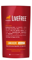 Dogswell LiveFree Grain-Free Dry Dog Food, Adult Lamb Recipe, 4 lbs
