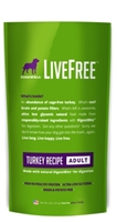 Dogswell LiveFree Grain-Free Dry Dog Food, Adult Turkey Recipe, 4 lbs