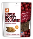 Dogswell Super Boost Squares, Chicken & Cranberry, 12 oz