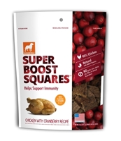 Dogswell Super Boost Squares, Chicken & Cranberry, 5 oz