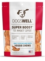 Dogswell Super Boost Veggie Chew Dog Treats, Beef, 5 oz