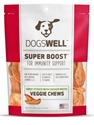 Dogswell Super Boost Veggie Chew Dog Treats, Chicken, 5 oz