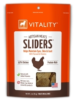 Dogswell Vitality Artisan Meats Chicken Sliders, 3 oz
