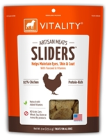 Dogswell Vitality Artisan Meats Chicken Sliders, 9 oz