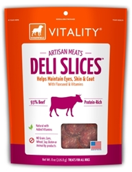 Dogswell Vitality Artisan Meats Deli Slices, Beef, 8 oz