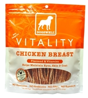 Dogswell Vitality Dog Treats, Chicken Breast Jerky, 15 oz