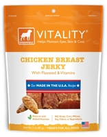 Dogswell Vitality Dog Treats, Chicken Breast Jerky, 3 oz