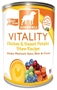 Dogswell Vitality Grain-Free Canned Dog Food, Chicken & Sweet Potato Stew Recipe, 12.5 oz, 12 Pack