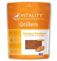 Dogswell Vitality Grillers, Chicken Tenders, 15 oz