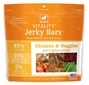 Dogswell Vitality Jerky Bars, Chicken & Veggies, 15 oz