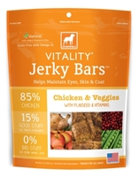 Dogswell Vitality Jerky Bars, Chicken & Veggies, 5 oz
