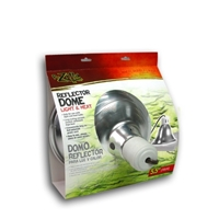 Dome Reflector Ceramic Silver 5.5 in