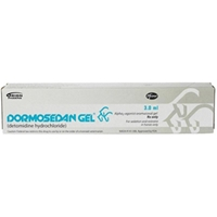Dormosedan Gel, 3 ml Syringe