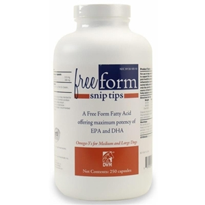 DVM Free Form Snip Tips Medium & Large Dogs, 60 ct