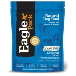 Eagle Pack Small Bites Pork & Chicken Formula Dog Food, 6 lb - 6 Pack