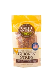 Earth Animal All Natural Chicken Strips, 10 oz