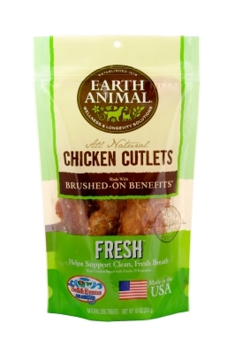 Earth Animal All Natural Fresh Chicken Cutlets, 10 oz
