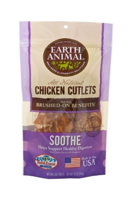 Earth Animal All Natural Soothe Chicken Cutlets, 10 oz