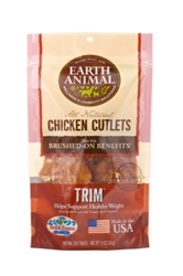 Earth Animal All Natural Trim Chicken Cutlets, 10 oz