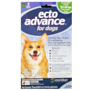 EctoAdvance For Dogs & Puppies 23-44 lbs, 12 Month Supply