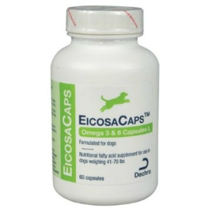 EicosaCaps for Dogs 41-70 lbs, 60 Capsules