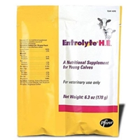 Entrolyte H.E. for Livestock, 6.3 oz