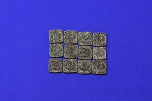 Eshopps Square Frag Tiles, 12 ct