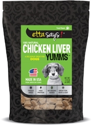 Etta Says Freeze Dried Chicken Liver Yumms, 2.5 oz