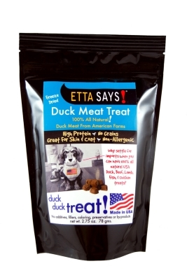 Etta Says Freeze Dried Duck Yumms, 2.75 oz