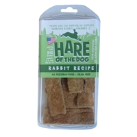 Etta Says Hare of the Dog Large Rabbit Jerky Dog Treats, 2.5 oz