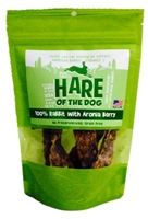 Etta Says Hare of the Dog Rabbit Jerky Dog Treats With Ariona Berry, 2.5 oz