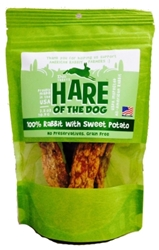 Etta Says Hare of the Dog Rabbit Jerky Dog Treats With Sweet Potato, 2.5 oz
