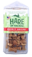 Etta Says Hare of the Dog Rabbit Treats with Apple & Dandelion, 4 oz