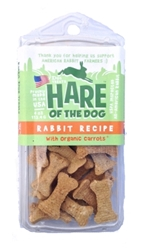 Etta Says Hare of the Dog Rabbit Treats with Carrot, 4 oz