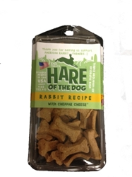 Etta Says Hare of the Dog Rabbit Treats with Cheddar Cheese, 4 oz