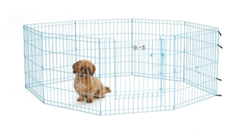 Exercise Pen Blue